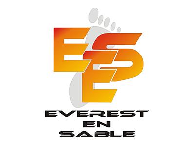Everest en sable